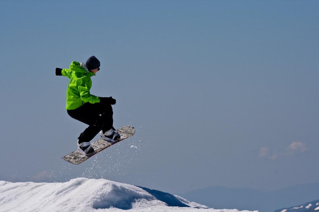 Alt om snowboarding