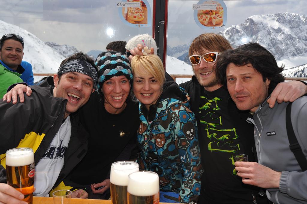 Pusterum efter dagens skiløb