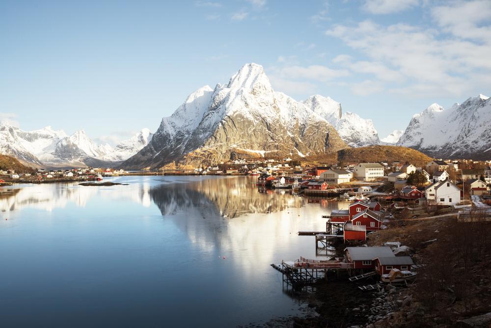 Tag på vinterferie i Norge med familien
